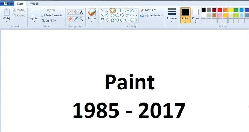 Paint - miał swoje wady, ale dla wielu był integralną częścią Windows /INTERIA.PL