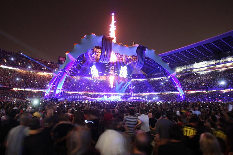 Pająk U2 /Dave Hogan /Getty Images