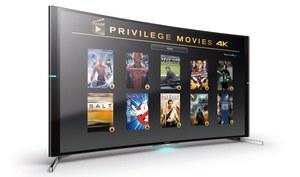 Pakiet filmów w rozdzielczości 4K do telewizorów Sony 4K Ultra HD