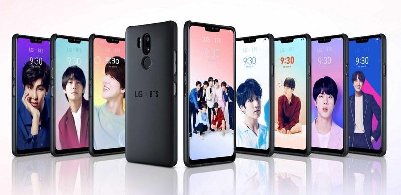 Pakiet na wyłączność dla fanów K-pop do pobrania na smartfony LG /materiały prasowe