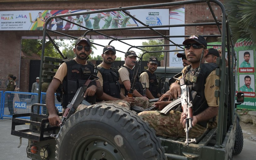 Pakistańscy żołnierze /AFP