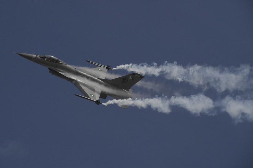 Pakistański model F-16 /AFP