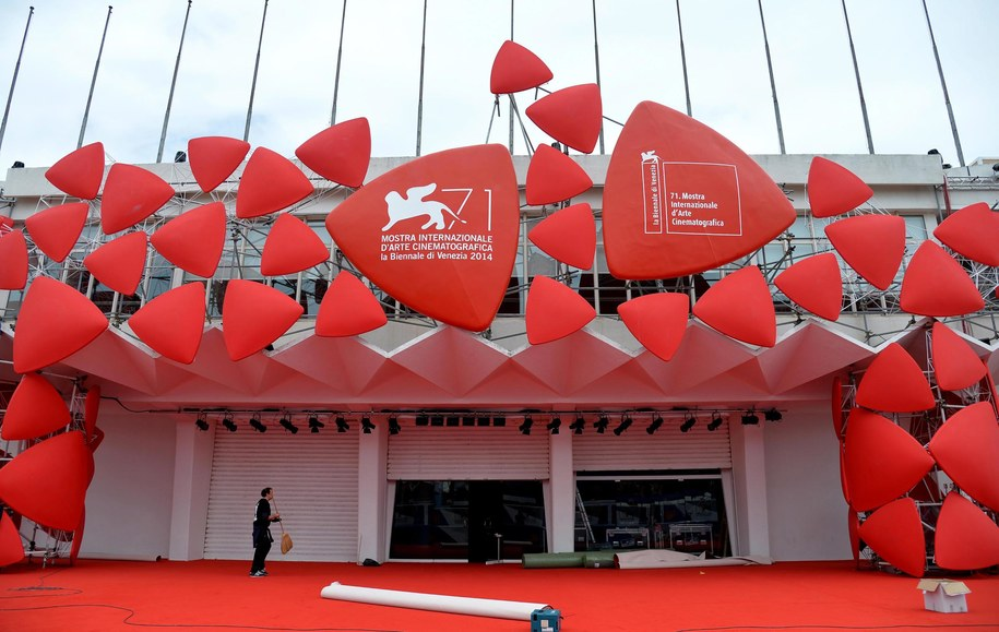 Pałac festiwalowy czeka na gości /ETTORE FERRARI /PAP/EPA