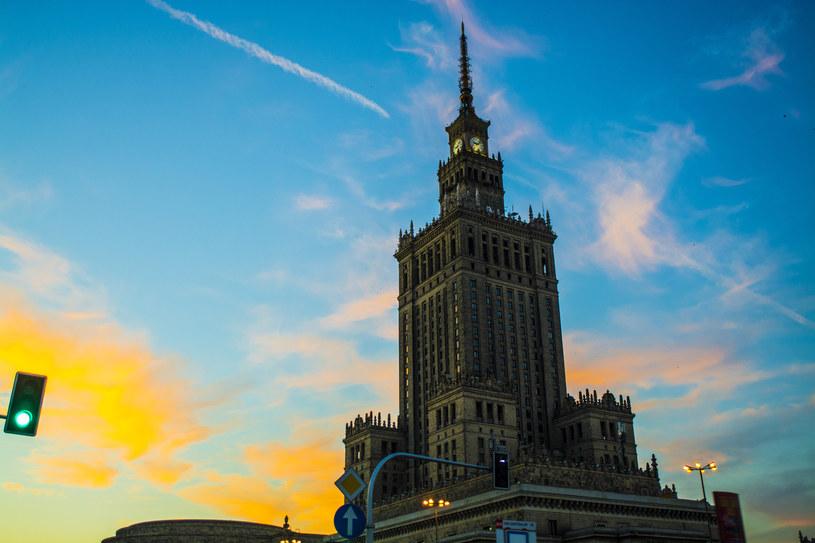Pałac Kultury i Nauki w Warszawie /SYLWIA DABROWA/ POLSKA PRESS /East News