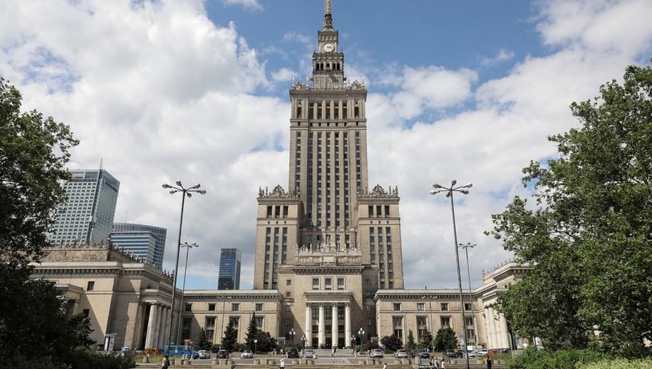 Pałac Kultury i Nauki /Paweł Supernak /PAP