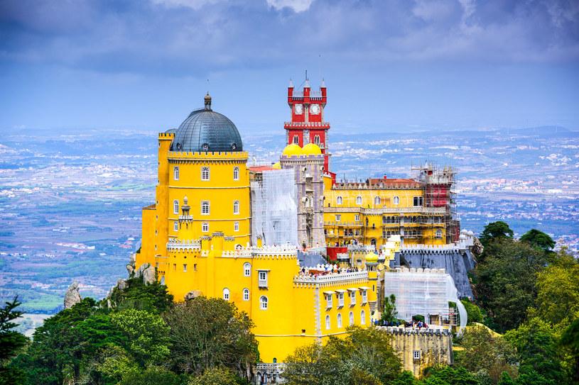 Pałac La Pena w Sintrze /123RF/PICSEL