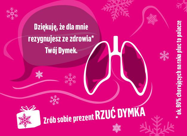 Paląc papierosy, dostarczasz swojemu organizmowi wiele toksyn /materiały promocyjne