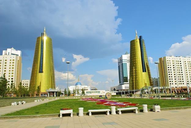 Pałac prezydencki w stolicy Kazachstanu - Astanie /©123RF/PICSEL
