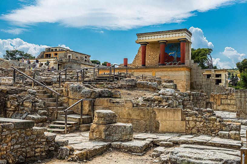 Pałac w Knossos /123RF/PICSEL