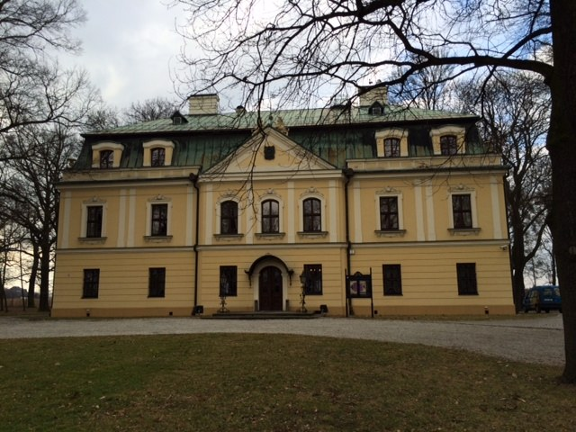 Pałac w Rynej /RMF FM