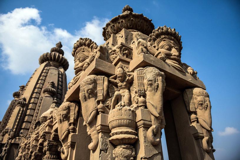 Pałac zdobią hinduskie motywy /AFP