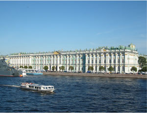 Pałac Zimowy, Petersburg, fot. Izabela Grelowska /INTERIA.PL