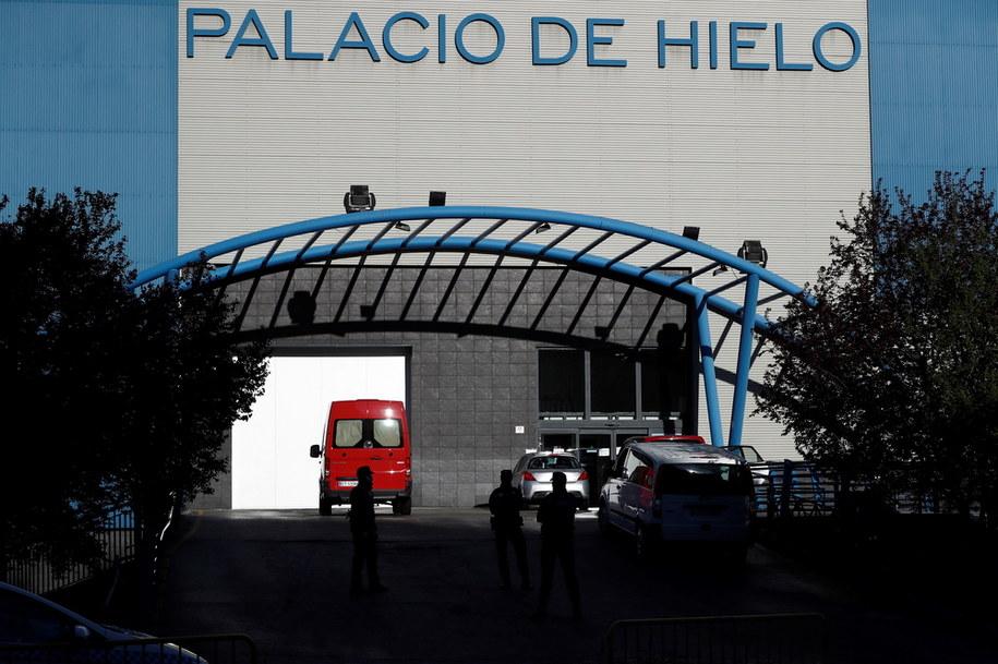 Palacio de Hielo - od dziś także miejska kostnica /MARISCAL /PAP/EPA