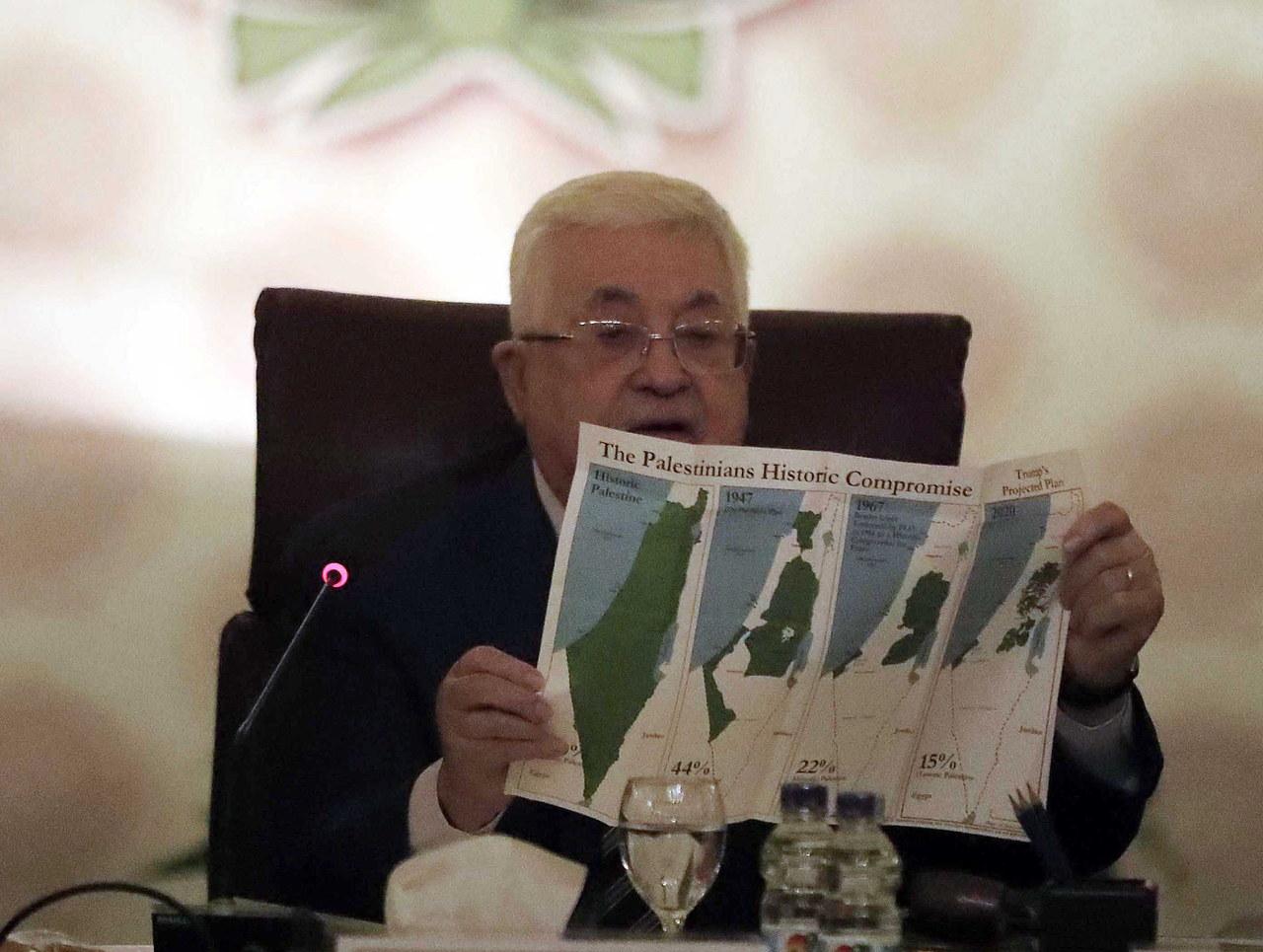 Palestyna zrywa stosunki ze Stanami Zjednoczonymi i Izraelem