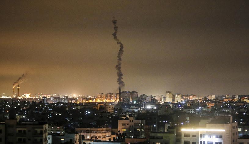 Palestyńscy bojownicy wystrzelili ze Strefy Gazy dwie rakiety; zdj. ilustracyjne /AFP