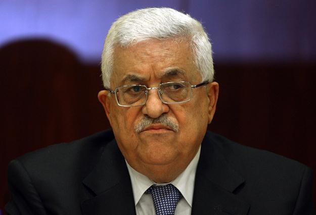 Palestyński prezydent Mahmud Abbas /AFP