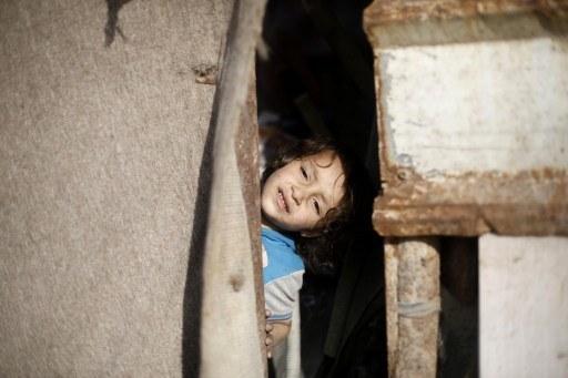 Palestyńskie dziecko w obozie dla uchodźców, zdj. ilustracyjne /MOHAMMED ABED /AFP