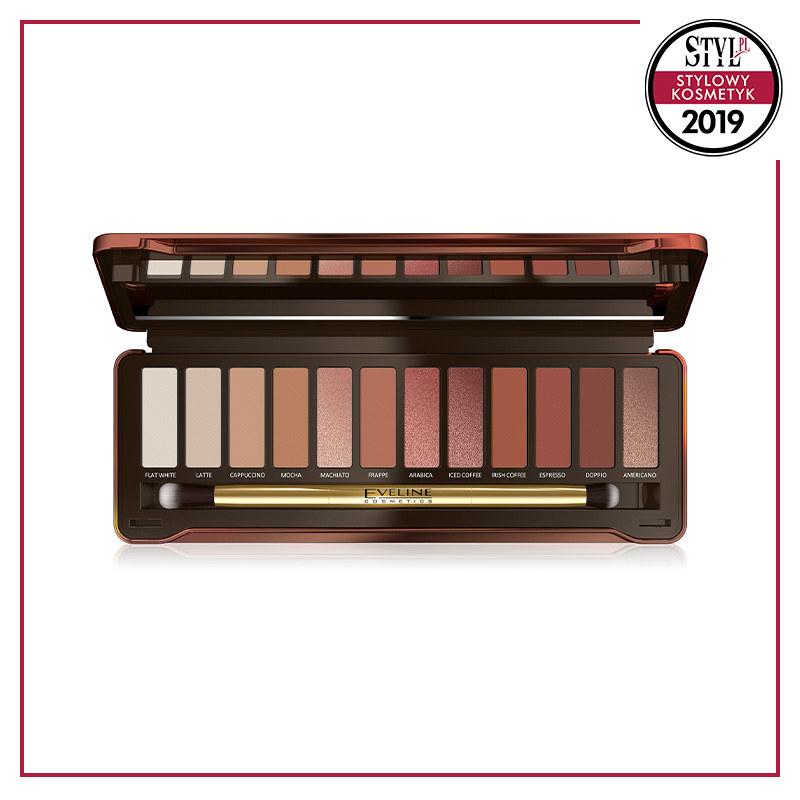 Paleta cieni do powiek Charming Mocha, Eveline Cosmetics /Styl.pl