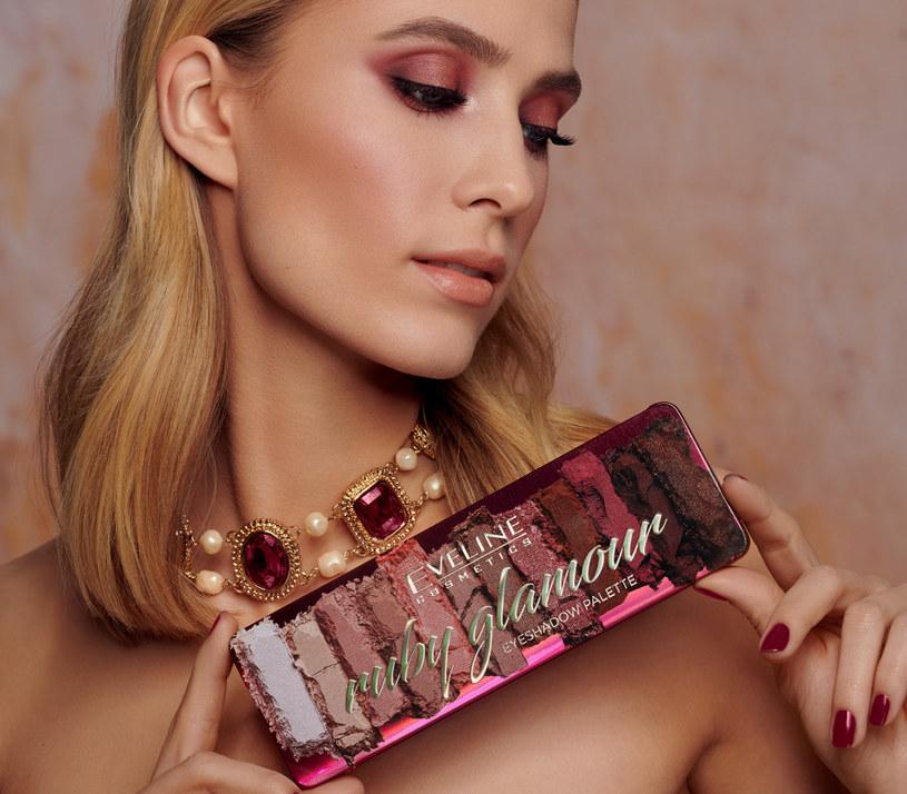 Paleta Ruby Glamour, Eveline Cosmetics /materiały prasowe