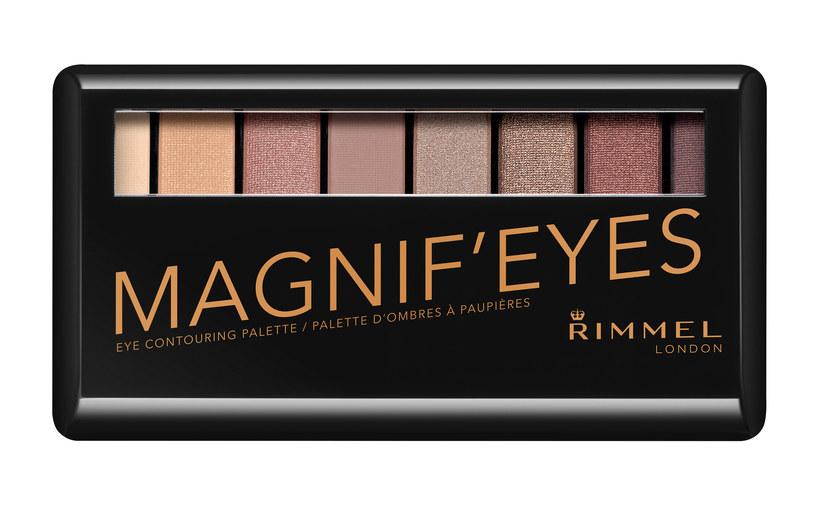 Paletka Rimmel Magnif'Eyes Eyeshadows /materiały prasowe