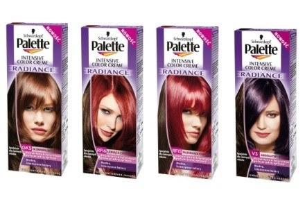 Palette Intensive Color Creme Radiance w 4 odcieniach /materiały prasowe