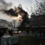 Palili opony i słomę. Policja poszukuje uczestników protestu rolników