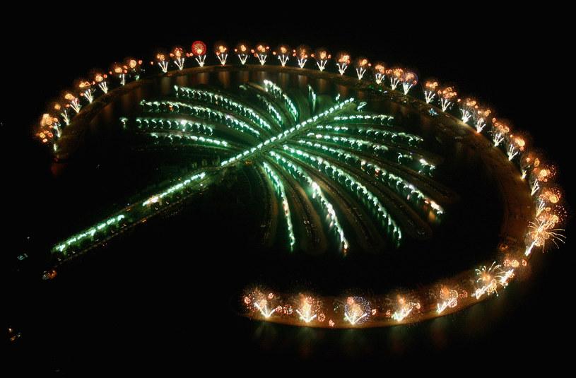 Palm Jumeirah - wyspa, na której mieszkała Małgorzata Teodorska /Daniel Berehulak /Getty Images