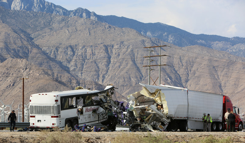 Palm Springs: Miejsce tragedii /Sam Mircovich/Reuters /Agencja FORUM