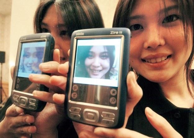 Palm Zire 72 - rok 2004. 3 lata później zadebiutował iPhone /AFP