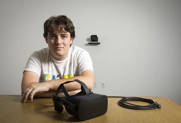Palmer Luckey, twórca Oculusa /materiały prasowe