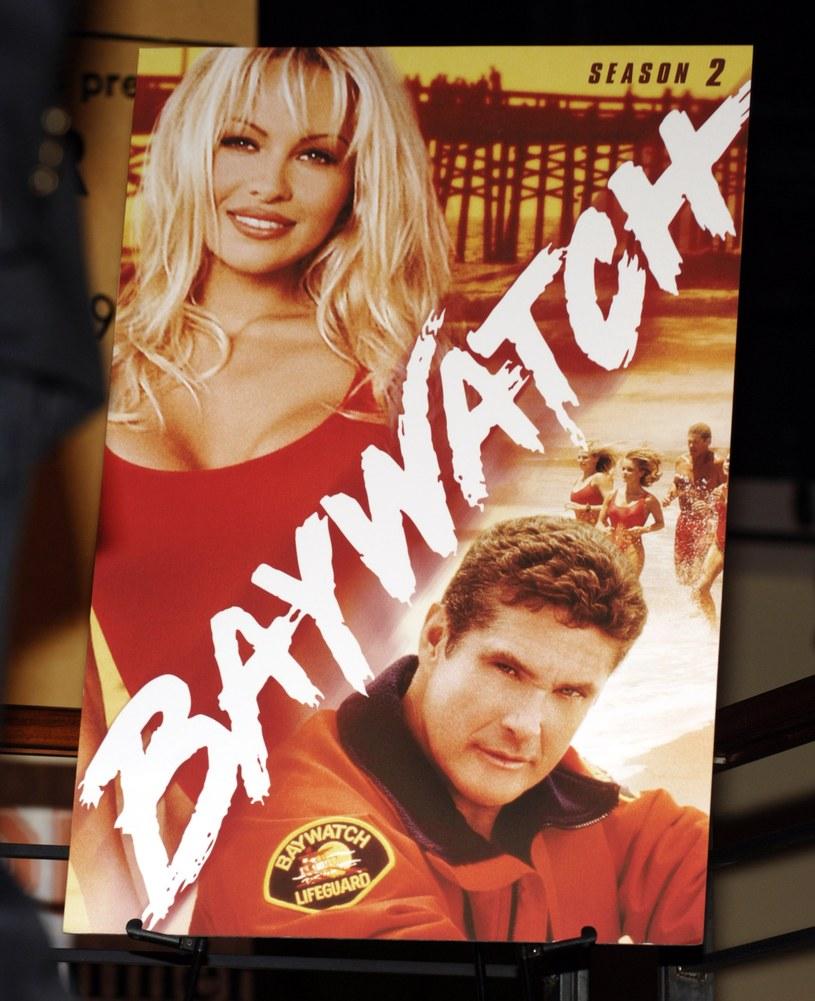 Pamela Anderson i David Hasselhoff /John M. Heller /Getty Images