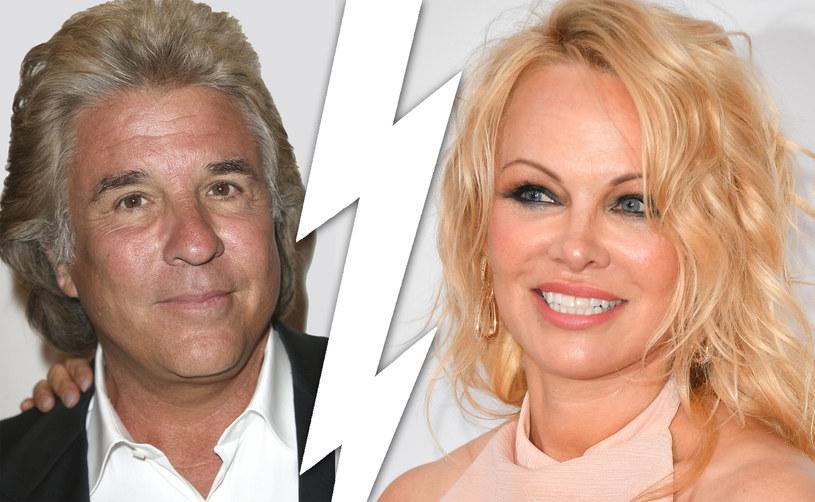 Pamela Anderson i Jon Peters nie są już razem /George Pimentel/Frederick M. Brown /Getty Images