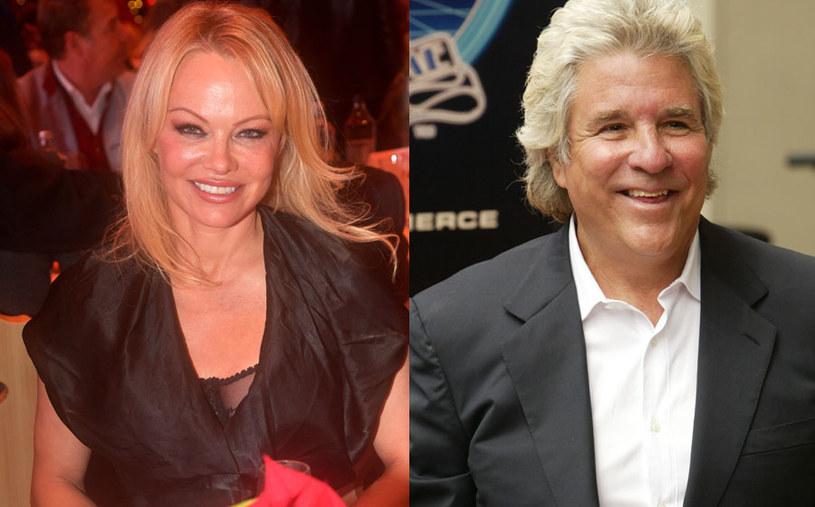 Pamela Anderson i Jon Peters znają się od ponad 30 lat /Hannes Magerstaedt/Jesse Grant/WireImage /Getty Images