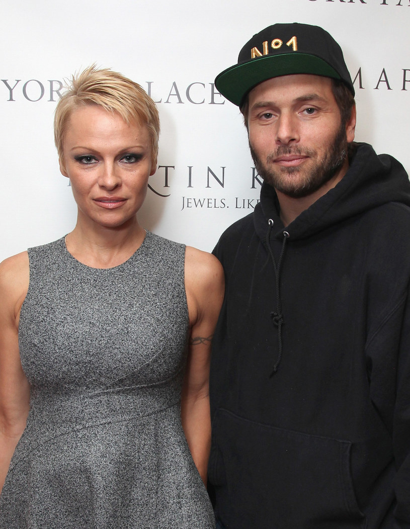 Pamela Anderson i Rick Salomon /Donald Bowers /Getty Images
