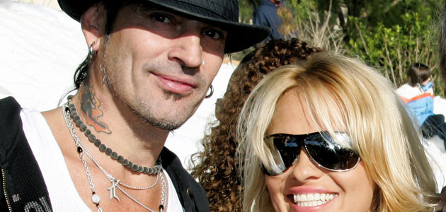 Pamela Anderson i Tommy Lee, fot. David Livingston   /Getty Images/Flash Press Media