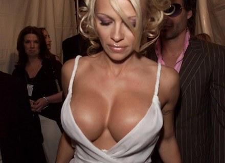 Pamela Anderson w Nowym Jorku, kwiecień 2001 /Getty Images/Flash Press Media