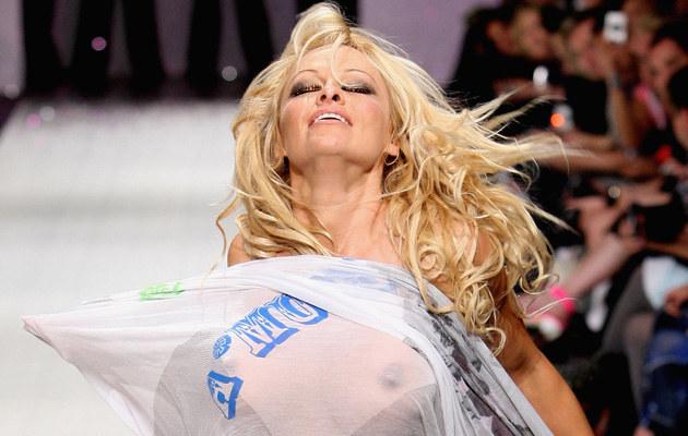 Pamela Anderson /Graham Denholm /Getty Images