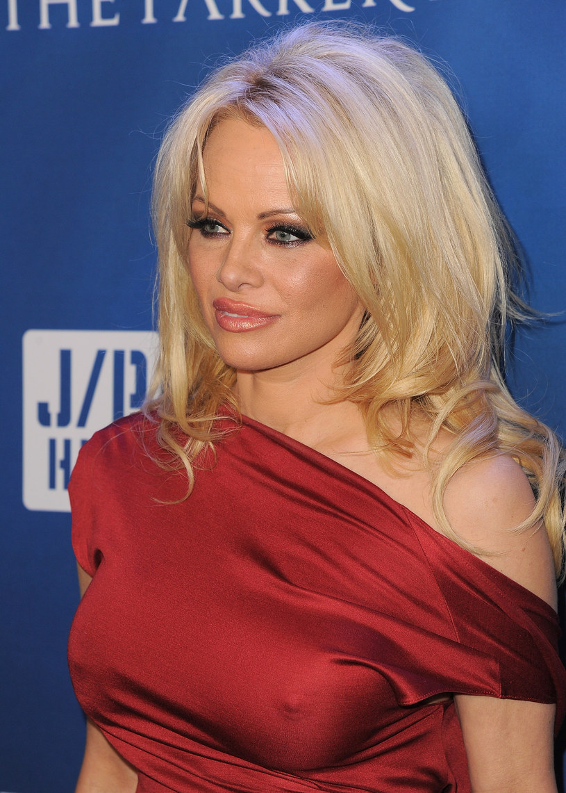 Pamela Anderson /Angela Weiss /Getty Images