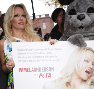 Pamela lubi protestować /AFP