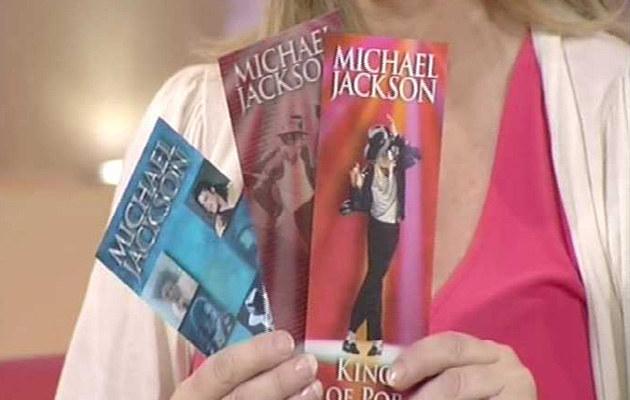 Pamiątkowe bilety na koncert Michaela Jackson  /Splashnews