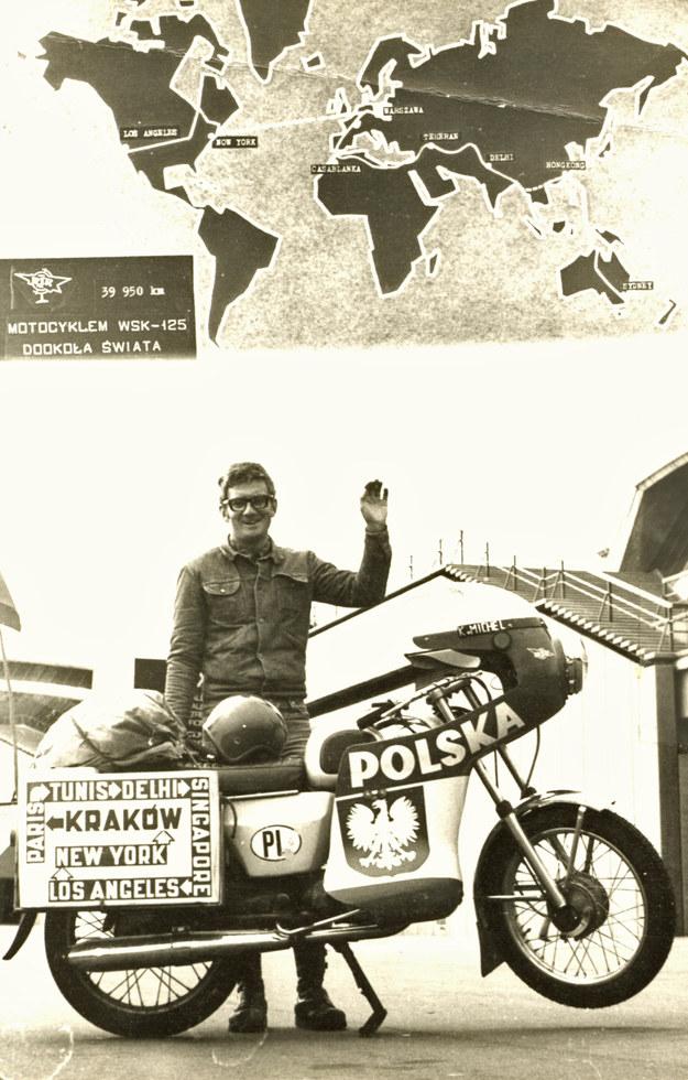 Pamiątkowe zdjęcie po zakończeniu wyprawy dookoła świata /Archiwum Tomasza Szczerbickiego