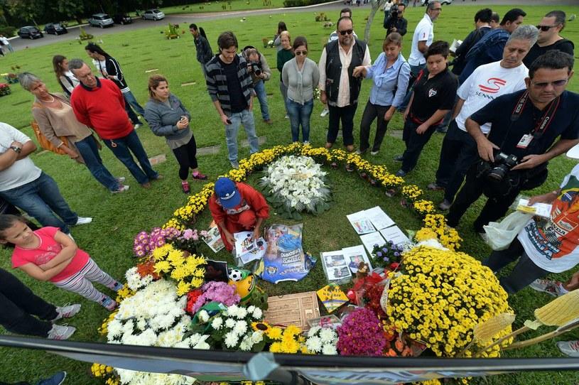Pamięć o Senne jest żywa, szczególnie w Brazylii /AFP