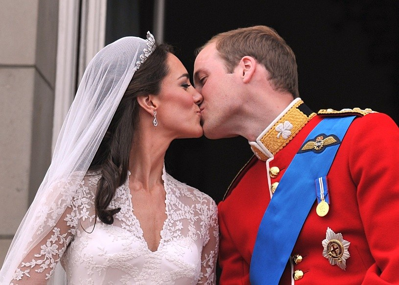Pamiętny ślub Williama i Kate /Getty Images