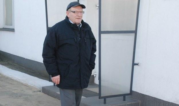 Pan Czesław, który odpracowuje swoje długi /Agnieszka  Wyderka /RMF FM