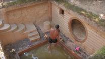 Pan Heang: Jak ośmieszyć deweloperów? Podziemny dom z basenem w 21 dni!