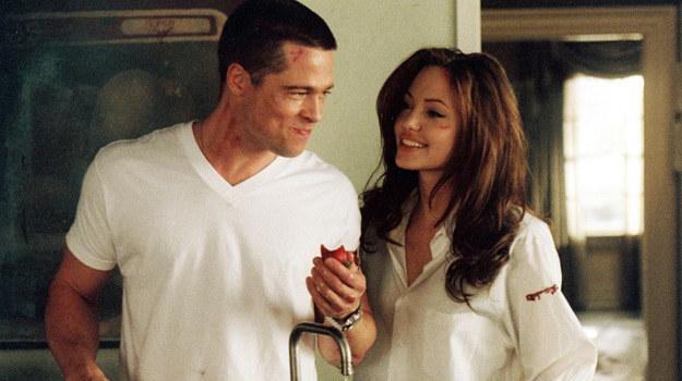 """""""Pan i Pani Smith"""" to jak na razie jedyny wspólny film Brada Pitta i Angeliny Jolie /materiały prasowe"""