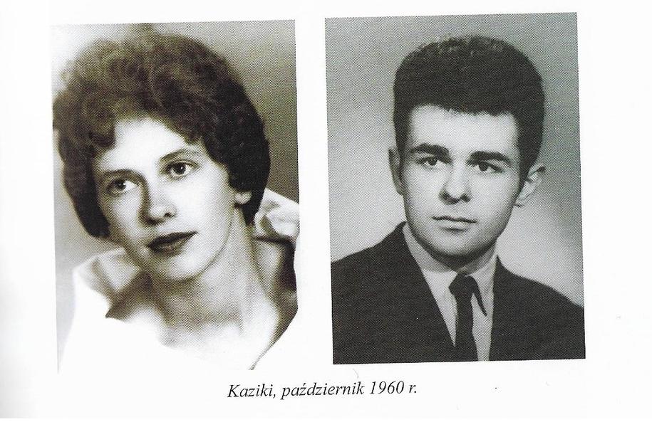 Pan Kazimierz Rozenbeiger z żoną Kazimierą /Archiwum prywatne /