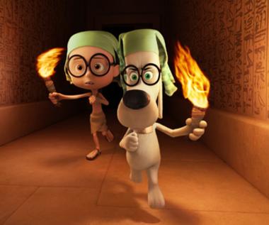 """Pan Peabody i Sherman"" [trailer]"