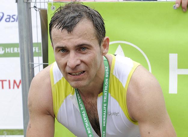 Pan Wojciech lubi sport - uprawia triatlon /Mieszko Pietka /AKPA