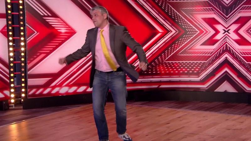Pan Zbigniew dał z siebie wszystko! /The X Factor UK /YouTube
